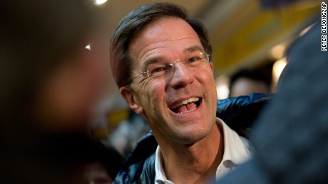 "Dutch leader Mark Rutte says Turkish threats of sanctions made a ""reasonable solution"" impossible."