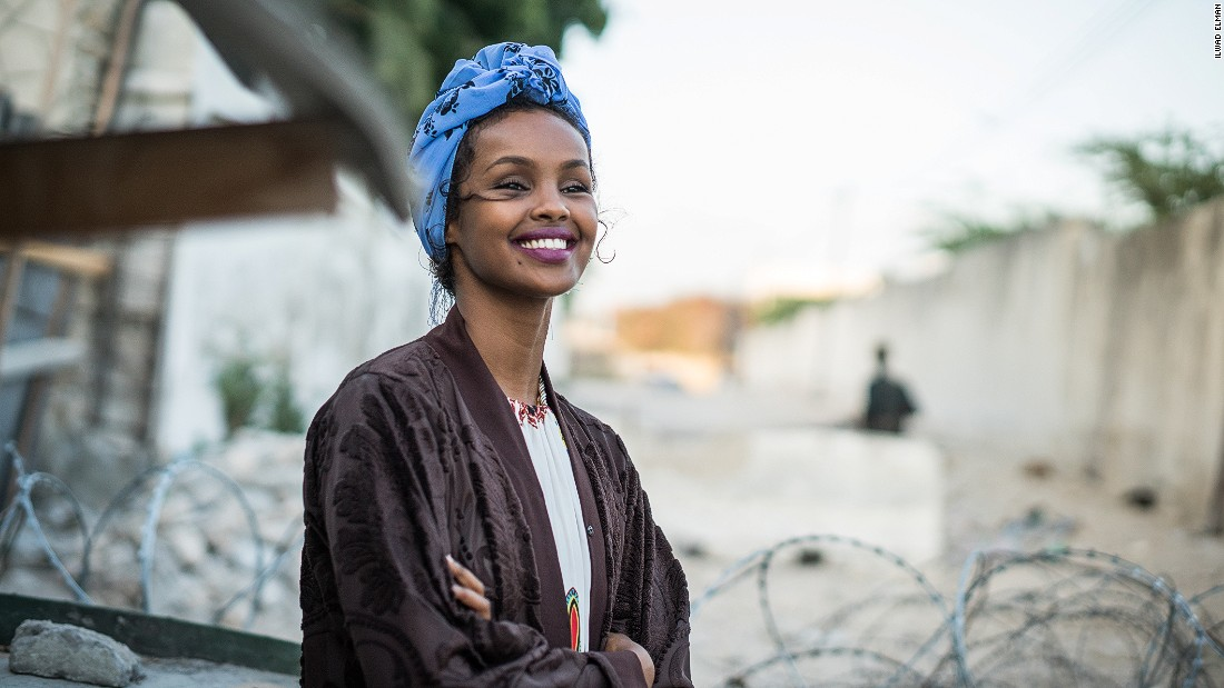 Ilwad Elman is a Somali-born social activist living in the United States. The YALI (Young African Leaders Initiative) alum is one of four daughters of the late Somali activist Elman Ali Ahmed.