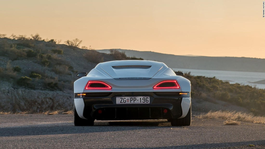 "The upgrade, announced at the 2017 Geneva Motor Show, will see the cars power increase by 100 kilowatts to 900 kilowatts, the company <a href=""http://www.rimac-automobili.com/en/press/releases/rimac-automobili-at-the-2017-geneva-motor-show/"" target=""_blank"">said in a statement</a>."