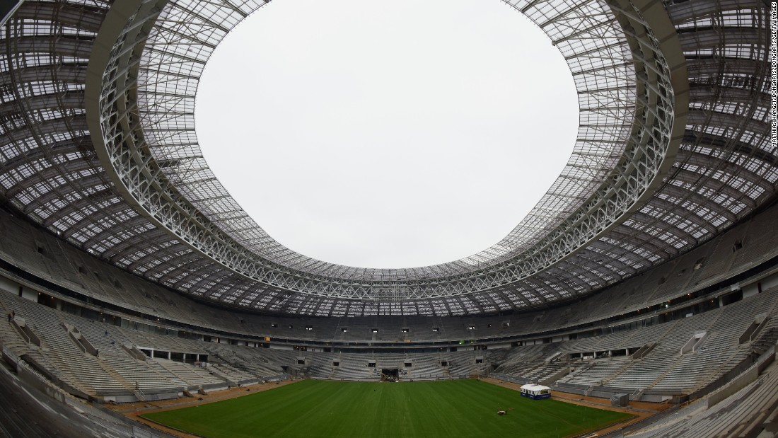 <strong>Luzhniki Stadium schedule:</strong><br /><strong>Confederations</strong> <strong>Cup</strong>: N/A<strong><br />World Cup</strong>: Group stage, last 16, semifinal, final<br /><strong>Legacy: </strong>The 81,006-seater will retain its status as the country's leading football stadium, hosting competitive international matches and friendlies. <br />