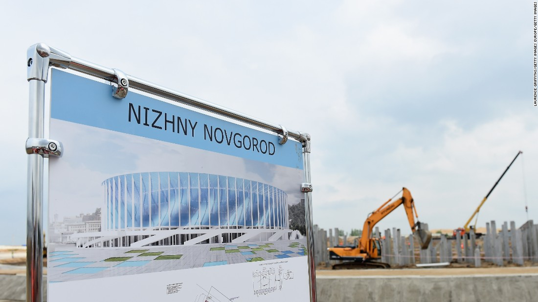 <strong>Nizhny Novgorod Stadium schedule:</strong><br /><strong>Confederations Cup:</strong> N/A<strong><br />World Cup</strong>: Group stage, last 16, quarterfinals<br /><strong>Legacy</strong>: The stadium was intended to become the permanent home of Russian club FC Volga, replacing the Lokomotiv Stadium after the tournament. However, Volga dissolved because of financial troubles in June 2016.<br />