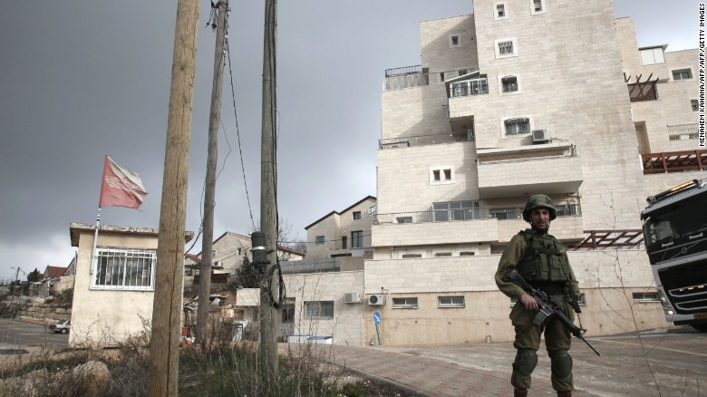 West Bank settlement with ties to Trump