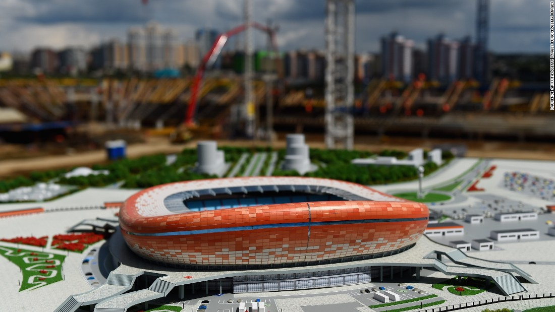 Set to feature a striking orange, red and white exterior, construction on the 44,442-seater Mordovia Arena began in 2010. Initially hoped to be completed two years later for the 1,000th anniversary of the Mordovian people's unification with Russia's other ethnic groups, it is now expected to be finished in late 2017.
