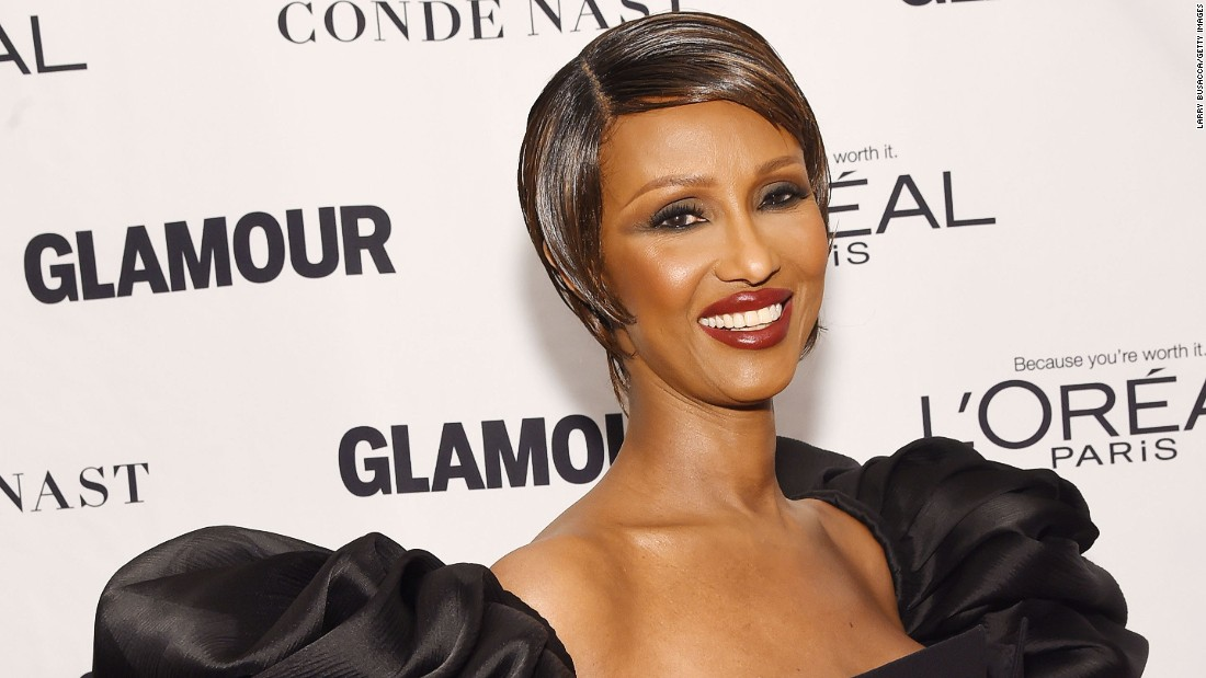 Iman Abdulmajid, commonly known as Iman, is a retired supermodel, mother, actress, entrepreneur and humanitarian.
