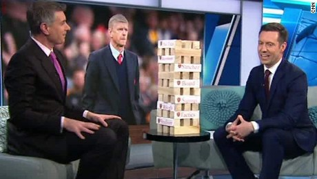 'Wenger Jenga' shows Arsenal F.C.'s downfall