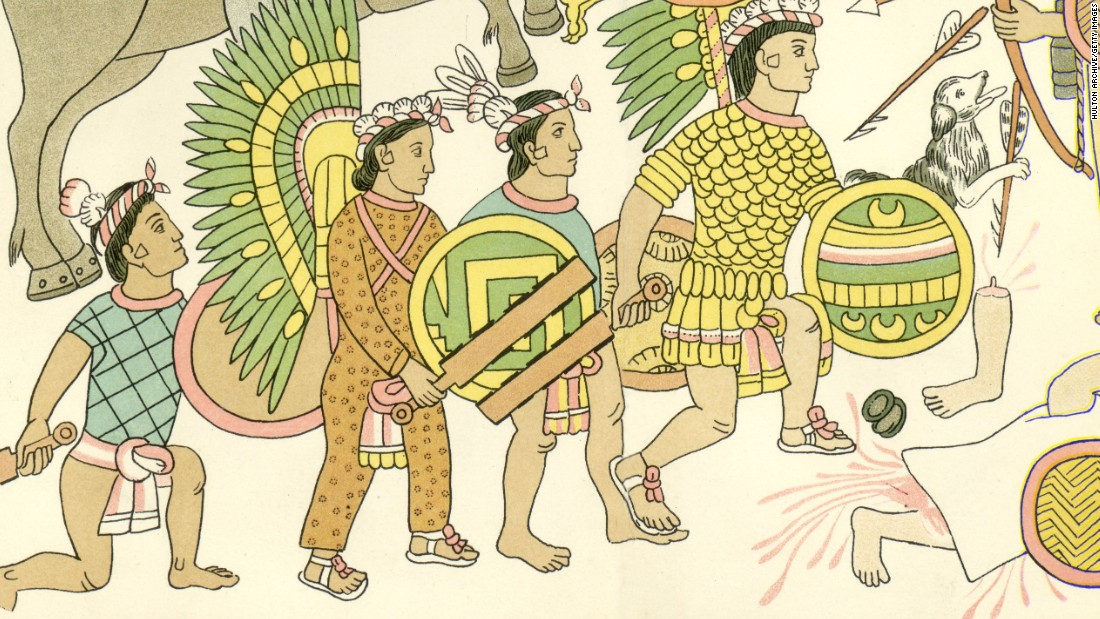 <strong>Aztec mythology: </strong>The Aztecs, who lived in what is modern-day Mexico from the 14th to 16th centuries, believed that the earth would be ended by a never-ending solar eclipse.
