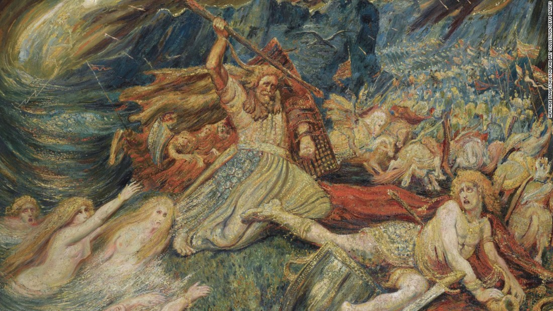 <strong>Norse mythology: </strong>The end of the world, according to Norse mythology, happens in an all-destroying battle between the gods.