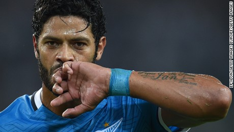"Brazilian Hulk was the most expensive signing in Russian Premier League history.  The former Zenit Saint Petersburg striker said he faced racism in ""almost every game"" in Russia."