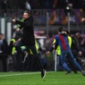 Enrique barcelona psg champions league celebrations