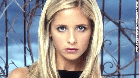 "A photo circa 1999 of Sarah Michelle Gellar, star of ""Buffy The Vampire Slayer."""