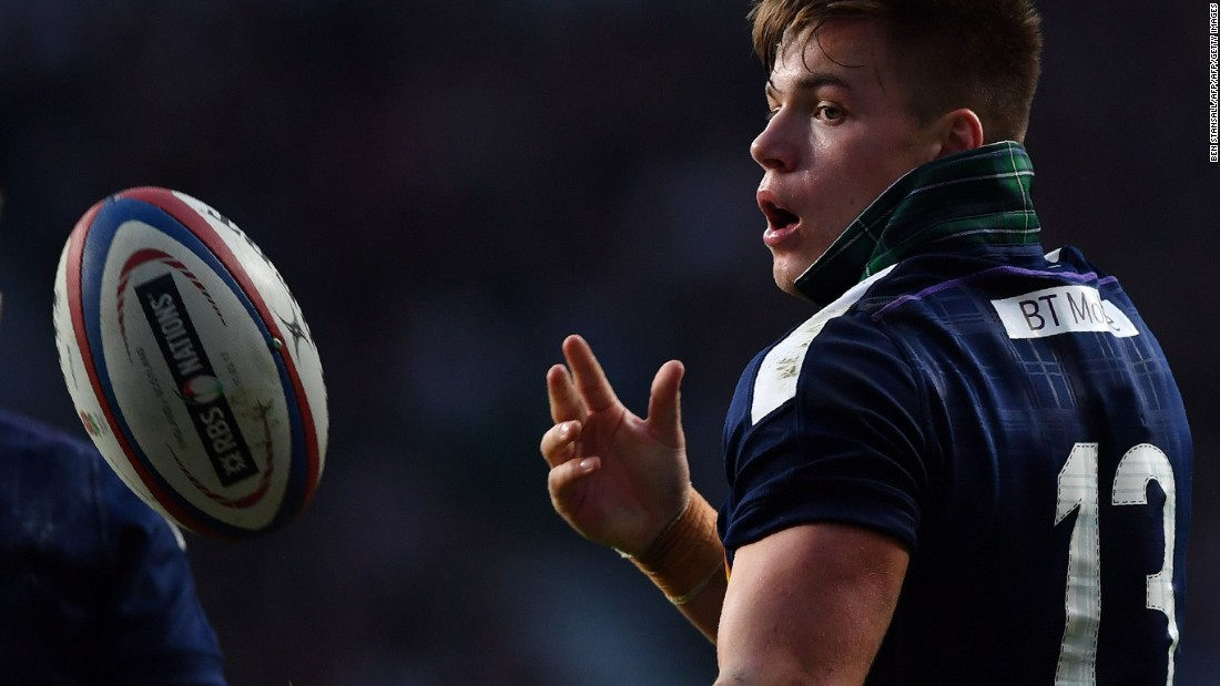 Scotland kept at it and Huw Jones scored two second half tries.