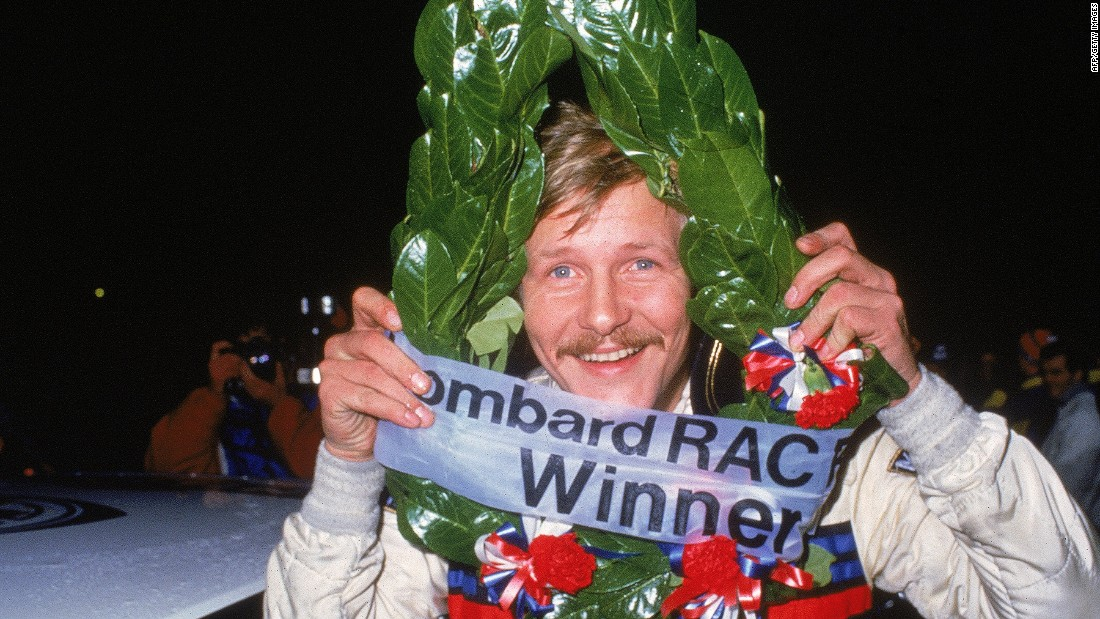 Juha Kankkunen also won the world rally championship four times during the late 1980s and early 1990s.