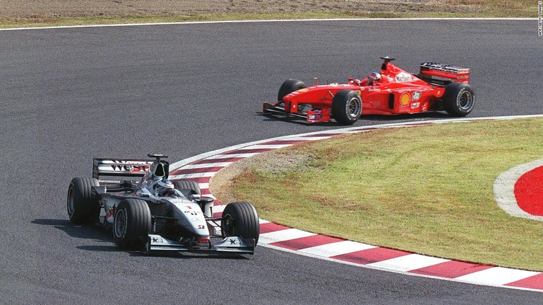 Raikkonen was the third Finn to win a F1 world title, eight years after Miki Hakkinen had clinched his second world title at the Japanese Grand Prix in Suzuka.