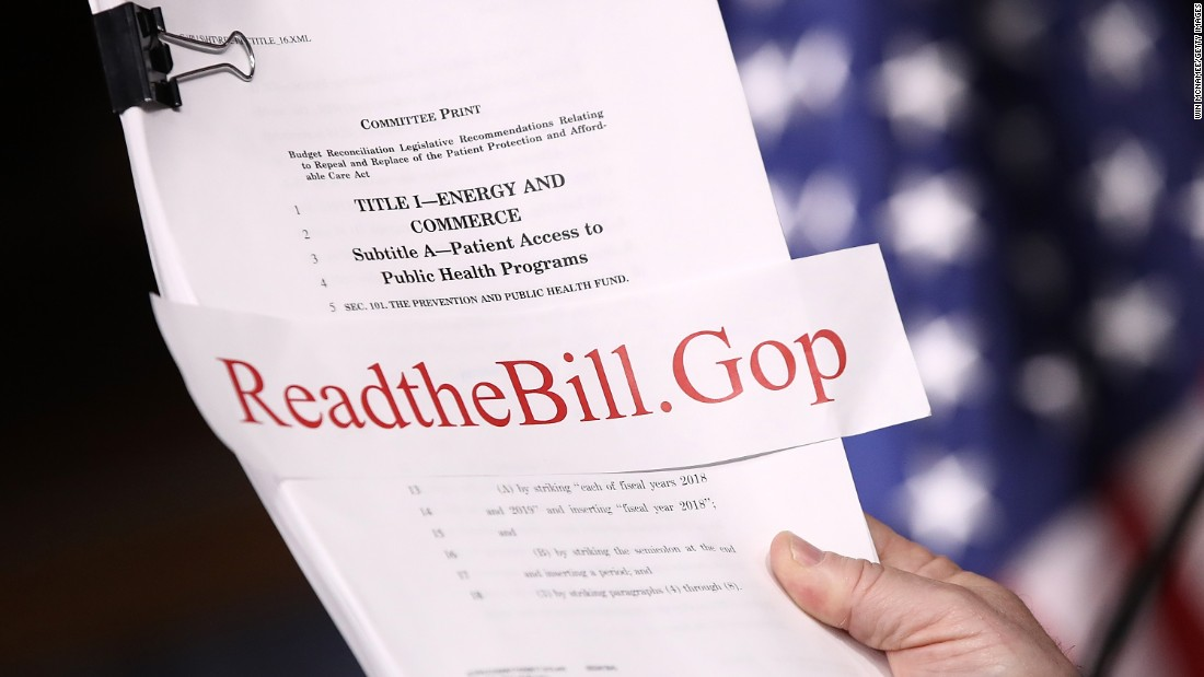CBO report: 24 million fewer insured by 2026 under GOP health care bill