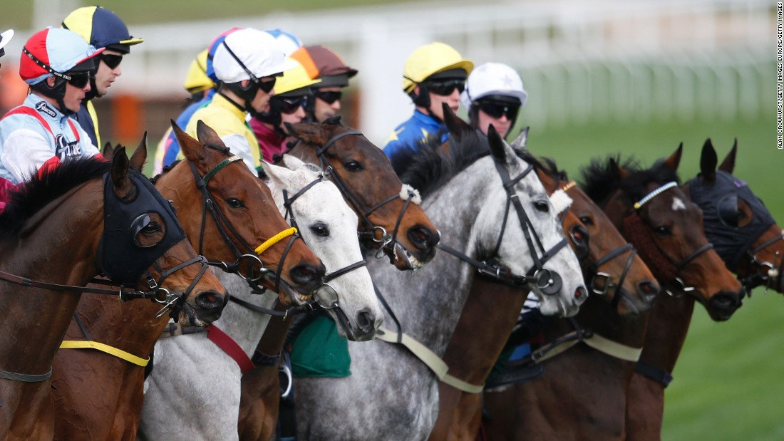The annual Cheltenham Festival is one of Britain's most popular racing events.