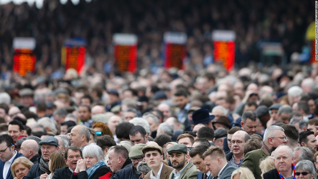 "There was a full house at Cheltenham racecourse on day one of the festival. In 2015, almost <a href=""http://www.isportconnect.com/index.php?option=com_content&view=article&id=31313:the-cheltenham-festival-2015-breaks-attendance-record&catid=40:horse-racing&Itemid=46"" target=""_blank"">250,000</a> attended across the four days of racing."