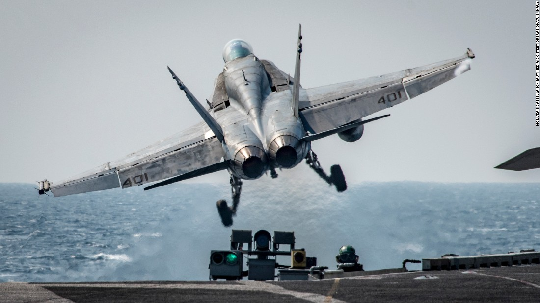 US-led coalition says 150 ISIS fighters killed in airstrike