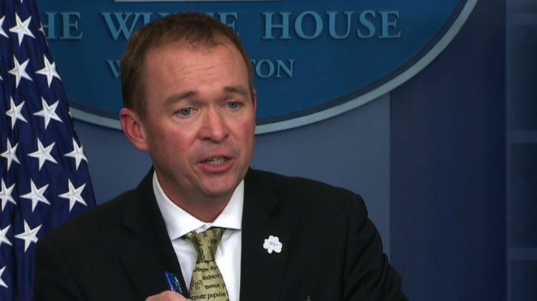 Mulvaney: Not spending money on climate change