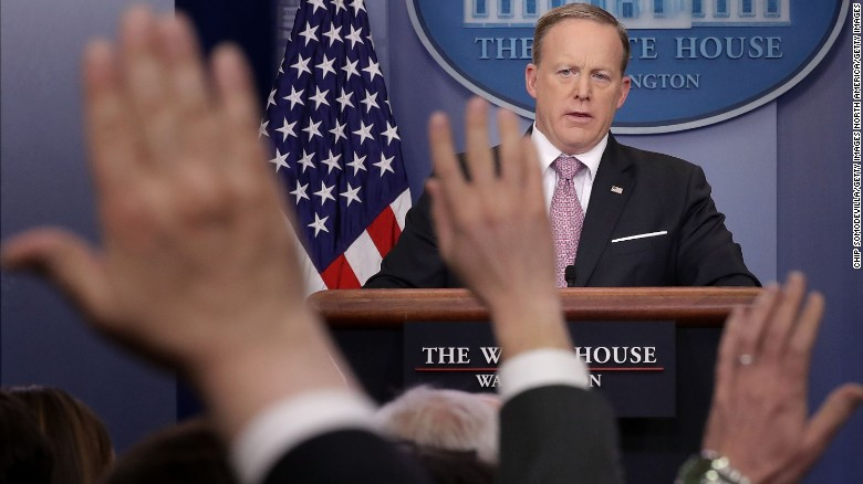 Sean Spicer's credibility called into question
