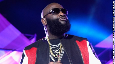 Hip-hop artist Rick Ross speaks onstage at MTV Woodies LIVE on March 16, 2017 in Austin, Texas.