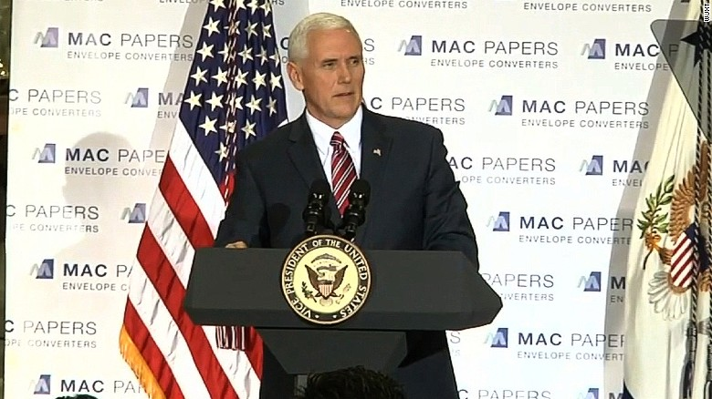 Mike Pence stumps for health care bill