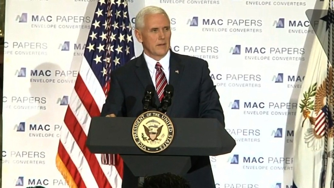 Pence stumps for health care bill in Florida