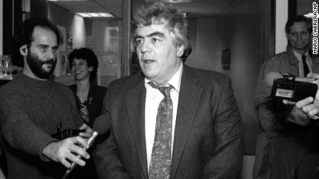 "Jimmy Breslin, seen here after it was announced he won a Pulitzer prize, was New York City based journalist and author whose work celebrated the ""little guy"" and took aim at the powerful."