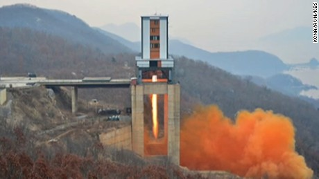 North Korea tested a new rocket at the Sohae facility in March 2017