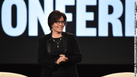 RANCHO PALOS VERDES, CA - FEBRUARY 01: Executive Editor, Re/code Kara Swisher speaks at the 2016 MAKERS Conference at Terranea Resort on February 1, 2016 in Rancho Palos Verdes, California.  (Photo by Alberto E. Rodriguez/Getty Images)