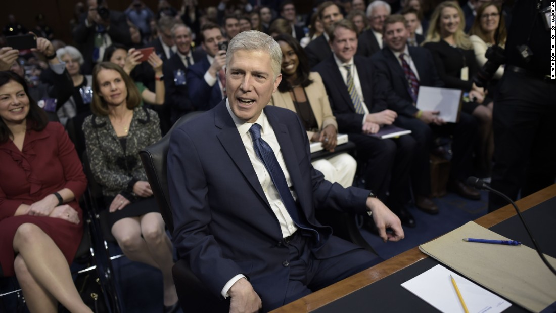 Law school says it didn't inform Gorsuch of complaint