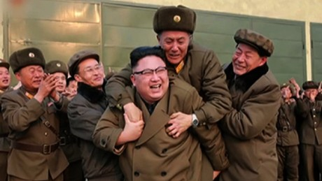 North Korea celebrates rocket engine test