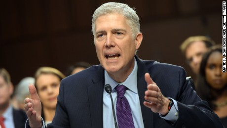 Gorsuch: 'I would have walked out the door' if asked to overturn Roe v. Wade