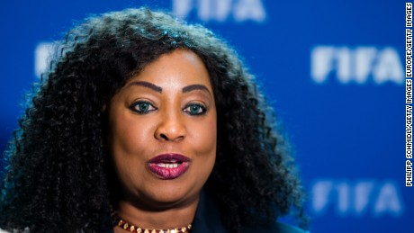 Fatma Samoura: 'Facelift' of FIFA's male hierarchy is 'ongoing'