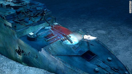Blue Marble Private Dive the Titanic
