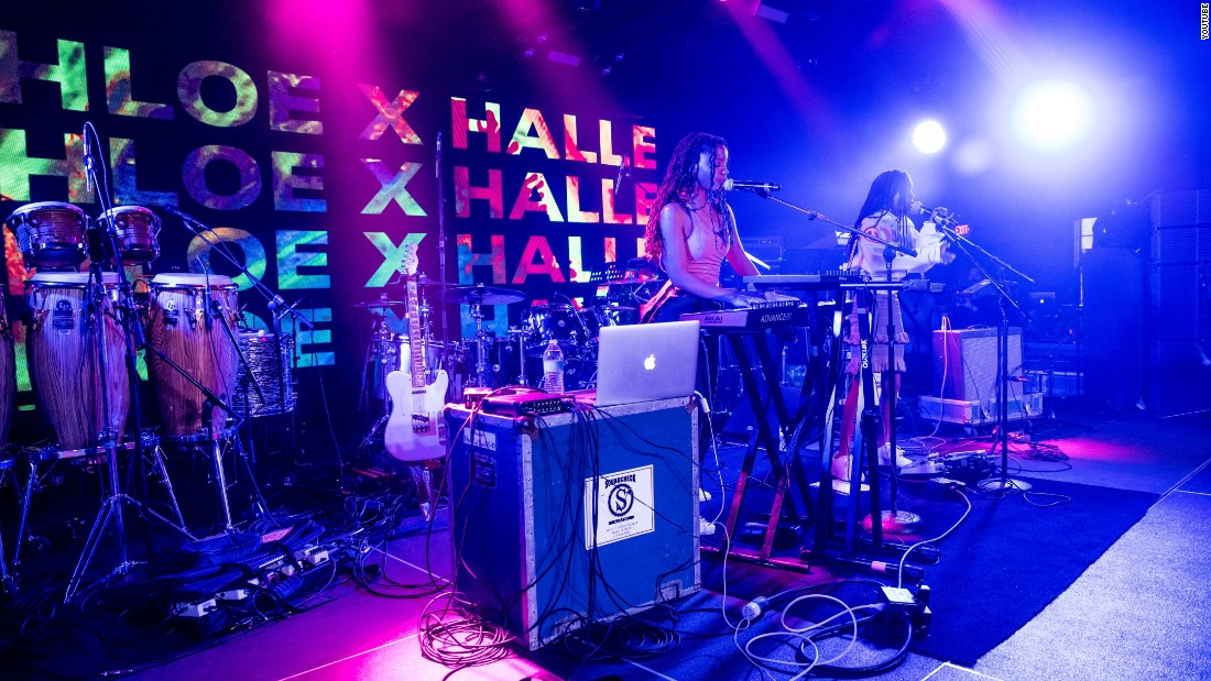 Chloe x Halle take the stage at South by Southwest. The sisters opened for Beyoncé last year during the European leg of her Formation tour.