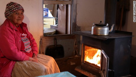 With temperatures often plunging below zero in winter, firewood is critical for the survival of many elders.