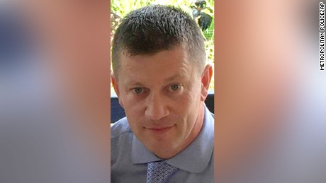 Police officer Keith Palmer