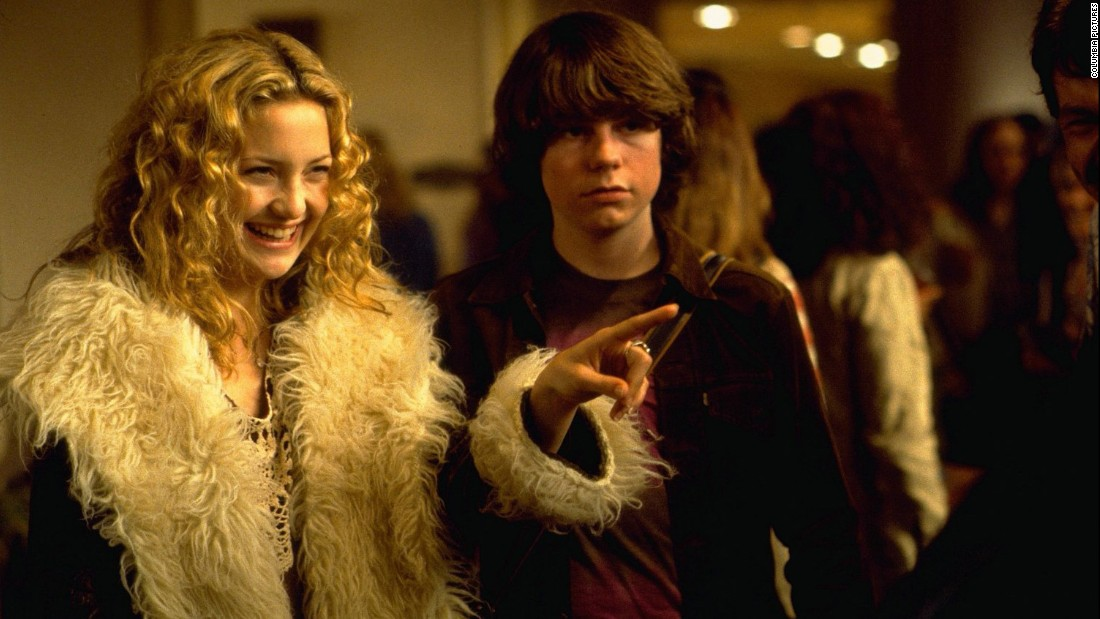 "<strong>""Almost Famous"": </strong>Kate Hudson and Patrick Fugit star in this film about a teenage journalist writing for Rolling Stone magazine in the early 1970s. <strong>(Amazon Prime, Hulu) </strong>"