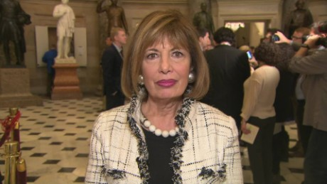Rep. Jackie Speier, shot 5 times in 1978, offers support to Scalise