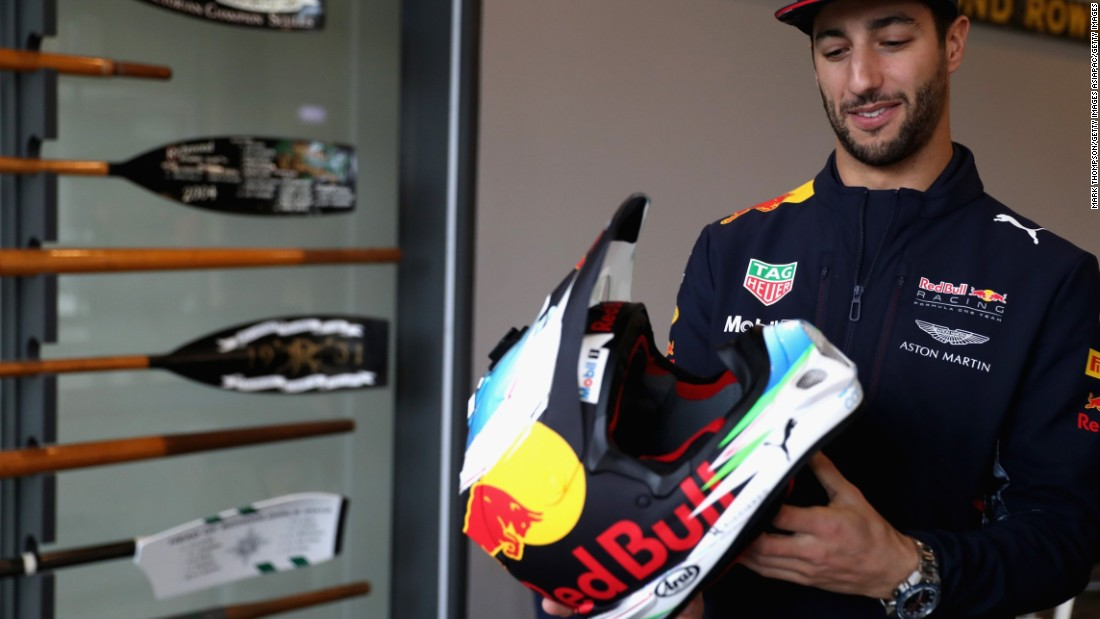 "<a href=""http://cnn.com/videos/sports/2017/03/13/spc-the-circuit-daniel-ricciardo-training.cnn"">The Australian</a> deserves a hat-tip for his performances last season. With eight podium finishes, he came the closest to breaking Mercedes' dominance."