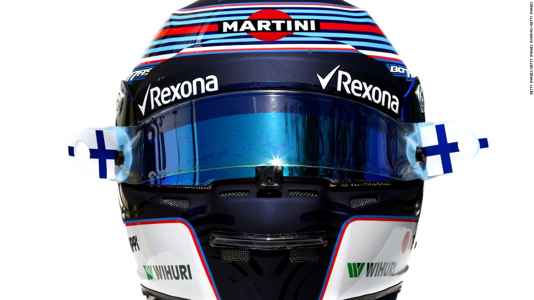 "New season, new cars, new helmets. Formula One drivers have a reputation for their funky head wear, and 2017 is no exception. All eyes will be on <a href=""http://www.cnn.com/2017/03/17/motorsport/f1-valtteri-bottas-mercedes-quickfire/index.html"">Valtteri Bottas</a> this season as he fills the spot left at Mercedes by last year's champion Nico Rosberg."