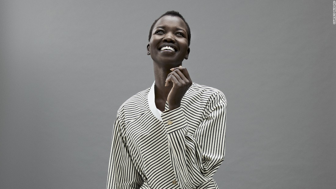 """I've had challenges finding work in some countries because black models weren't in season at that time, my hair and finding makeup to match my complexion have been the most difficult."" <br />"