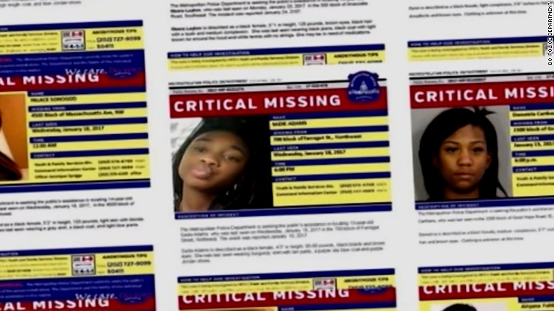 Outrage over missing black girls in DC