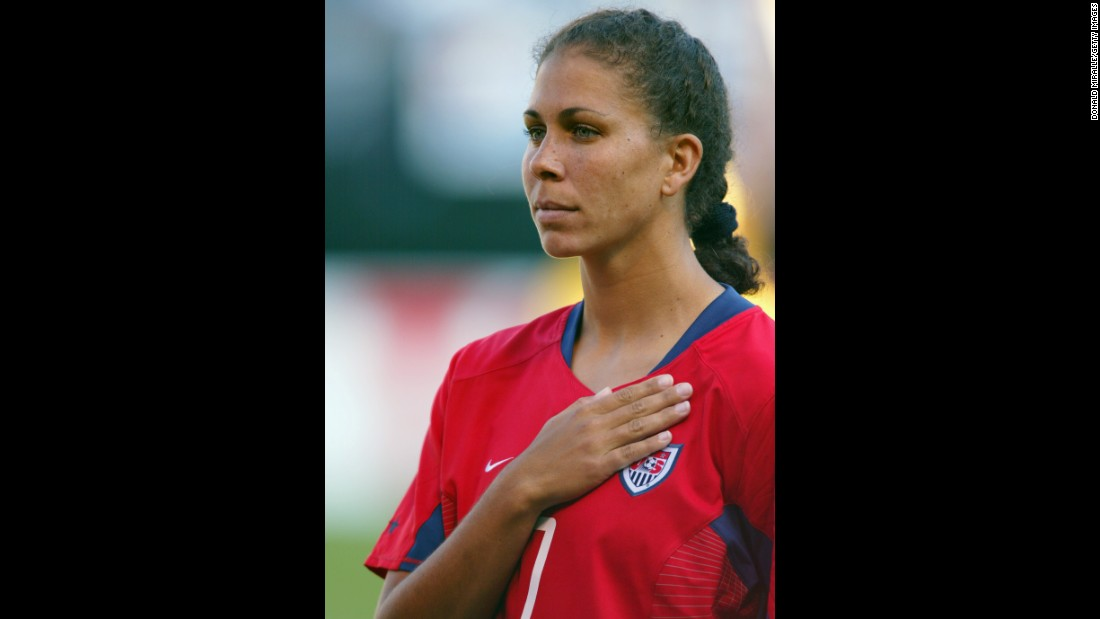 Soccer star Shannon Boxx has been battling lupus since she was 30 years old. She went public with her condition in 2012, continuing to play for the U.S. women's soccer team and working with lupus organizations to spread awareness of the disease.