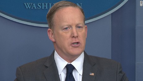 Exasperated Spicer tosses out salad dressing analogy to defend WH