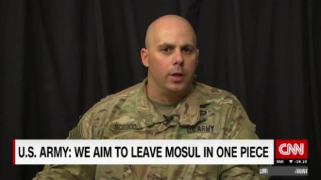 U.S.: 'We want to return Mosul in one piece'