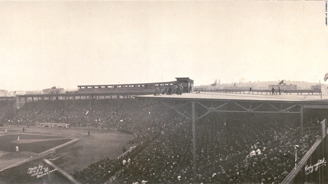"Boston's Fenway Park, which opened in 1912, is one of the ""jewel box"" ballparks, a style that was popular from the late 1800s to the early 1900s."