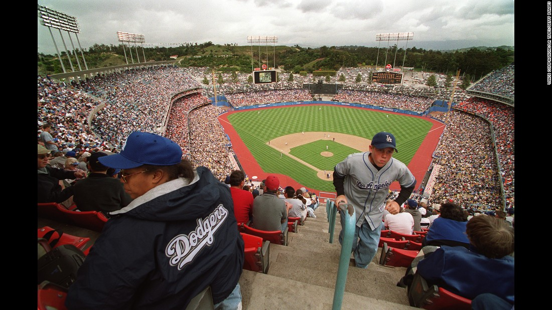 "Dodger Stadium in Los Angeles signaled the ""modern"" era in building ballparks specifically for baseball. Built in 1962, it's the third-oldest MLB stadium still in use."