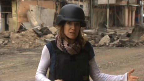 CNN reports during Iraqi, ISIS firefight
