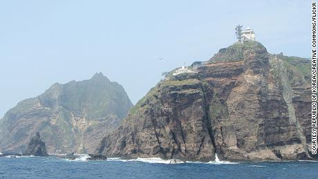 Quần đảo Dokdo / Takeshima đang tranh chấp